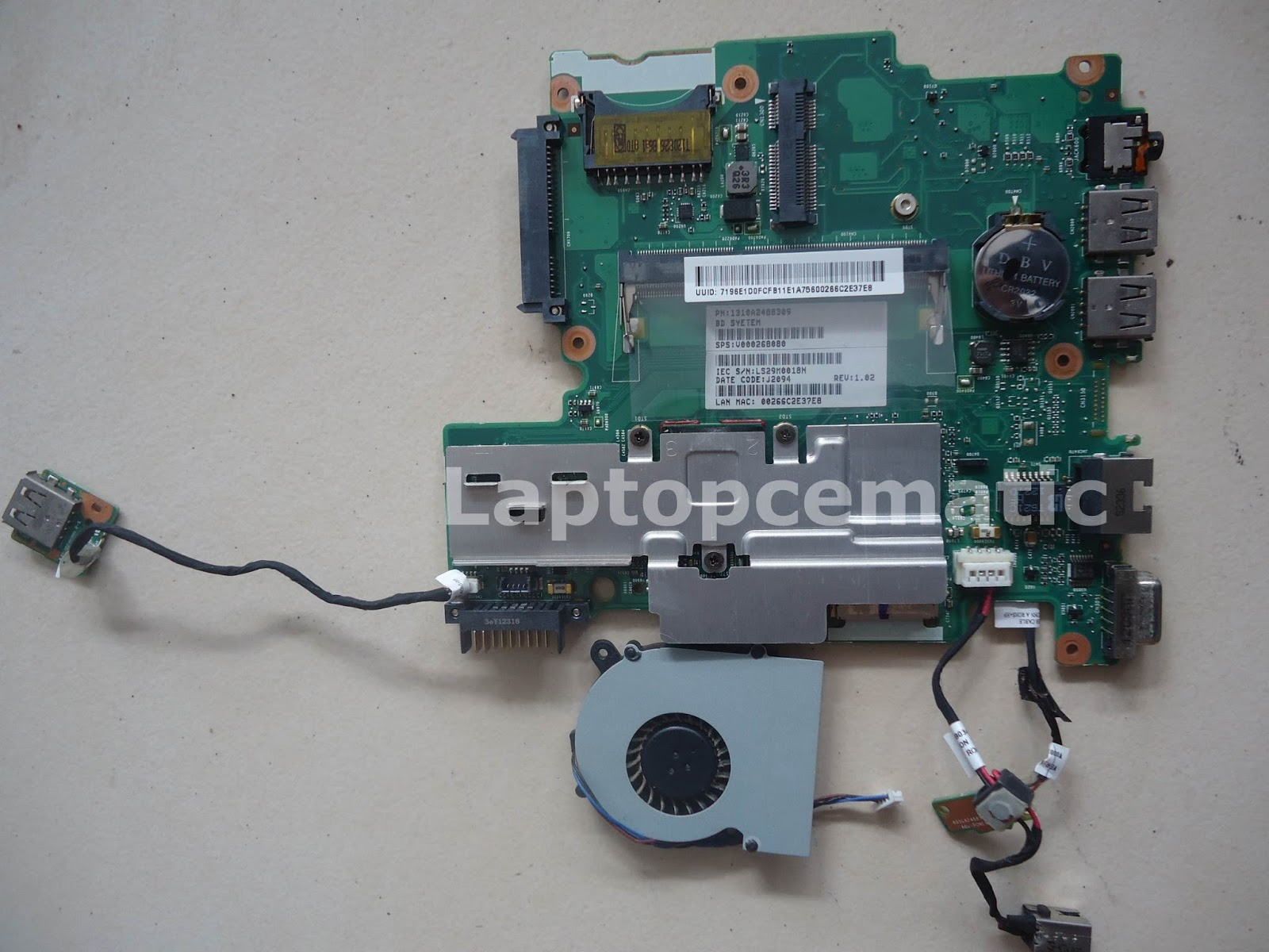 Pico Btx Motherboard Diagram Electrolux Wiring On Vacuum Toshiba Nb510 Mainboard Code 6050a2488301 Mb
