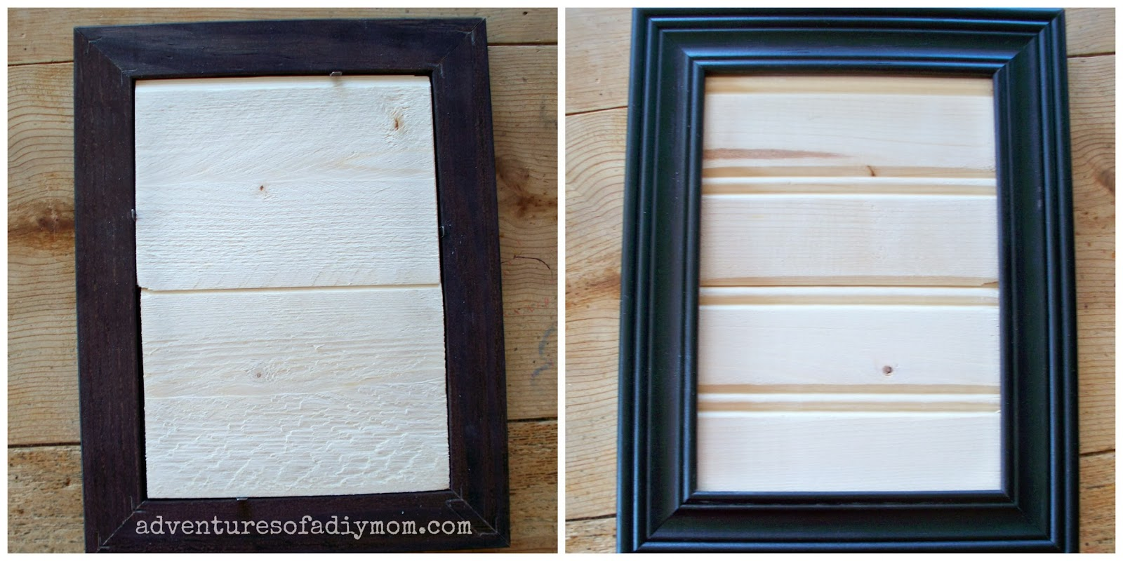 How to make a beadboard picture frame adventures of a diy mom how to make a beadboard picture frame jeuxipadfo Images