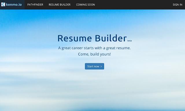 Kenmo Resume Builder