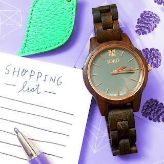 Wood Watch JORD Woman Gift best lightweight