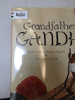 Armchair travelers unite! Get your middle schoolers involved in the Read Around the World Challenge! How many countries can you read? This photo is one of our books--Grandfather Gandhi, which is one of our four titles representing India.