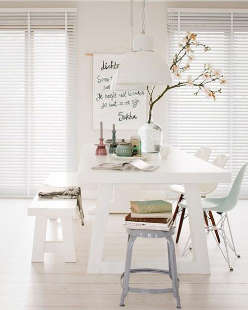 Picnic Table Dining Room: 10 Bellos Comedores Con Mesas De Picnic10