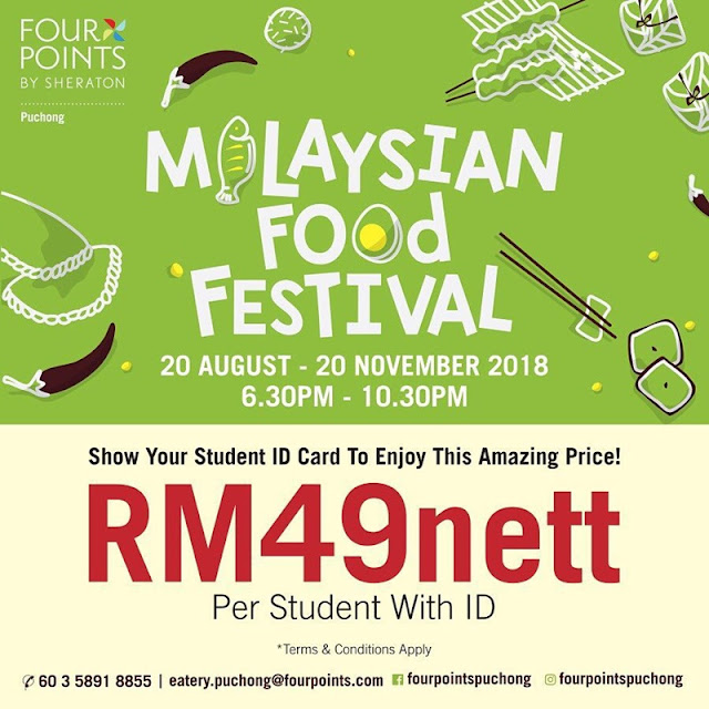Malaysian Food Festival Buffet Prices Promotion - Student