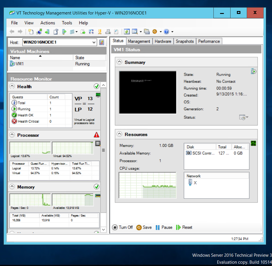 VT Technology Blog: How to manage free Hyper-V Server and