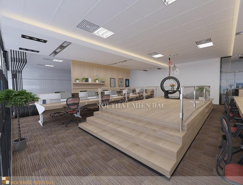 Thiết kế nội thất văn phòng cao cấp - Không gian phòng làm việc độc đáo