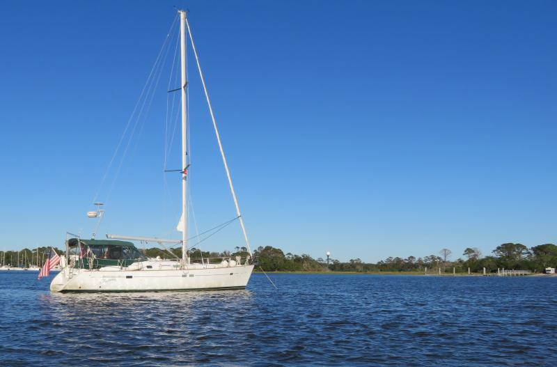 Cruising Down The Icw 2018 Jekyll Island At Anchor