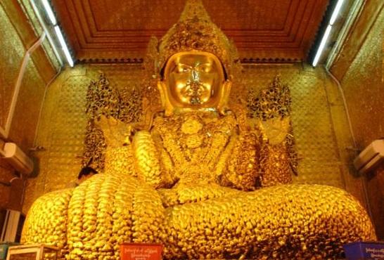 Ngôi chùa Mahamuni - Địa Điểm Du Lịch Tuyệt Đẹp