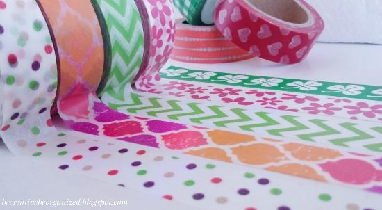 Washi trake - mali kolutovi sreće