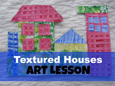 Textured Art Lesson: The Unlikely Homeschool