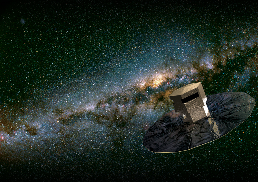 gaia spacecraft milky way map - photo #1