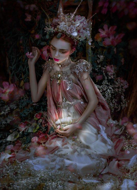 Lillian Liu arte fotografia fashion surreal mulheres modelos photoshop fantasia lirismo