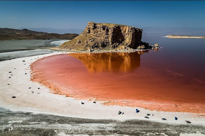 Lake Urmia in Iran