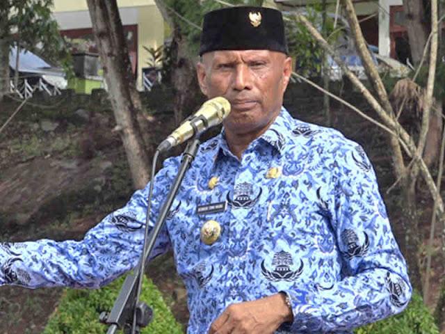 Benhur Tomi Mano Pimpin Apel Peringatan Hari Lingkungan Hidup Sedunia di Kota Jayapura