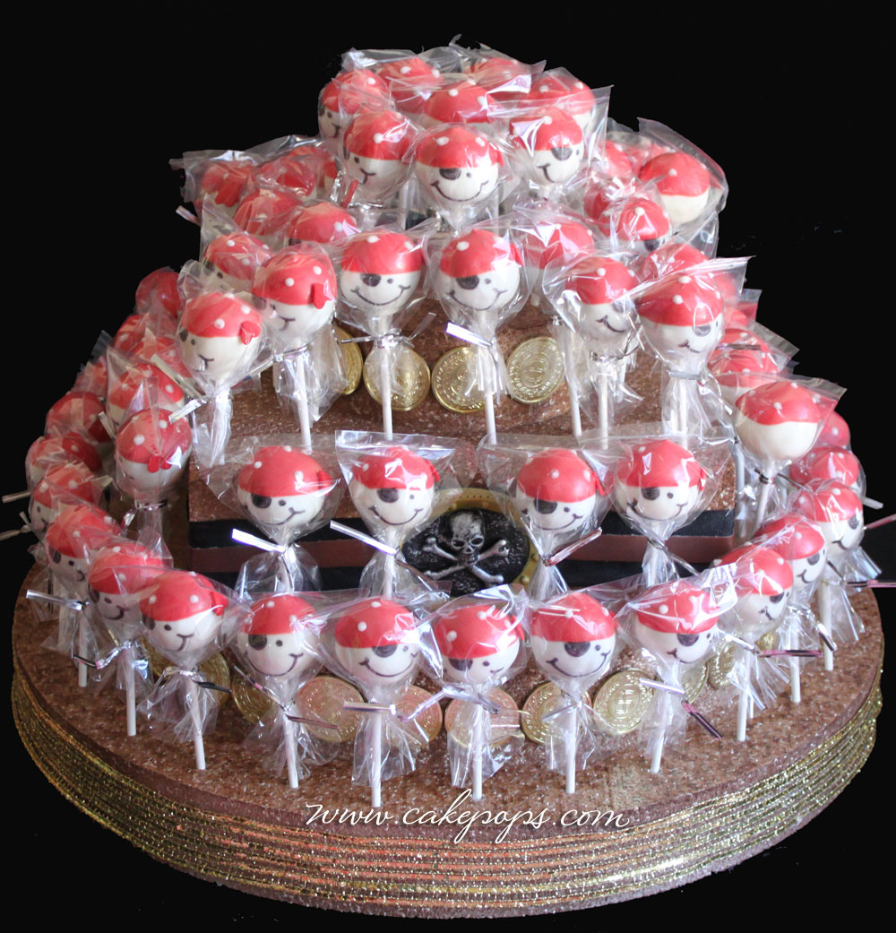 Candy's Cake Pops: Pirate Themed Cake Pops & CakePop Cake ...