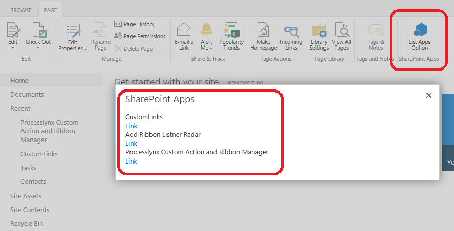 My time break for Office in 365 days: Add Custom Ribbon Button in