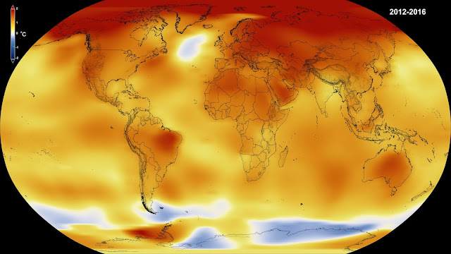 Record jump in 2014-2016 global temperatures largest since 1900