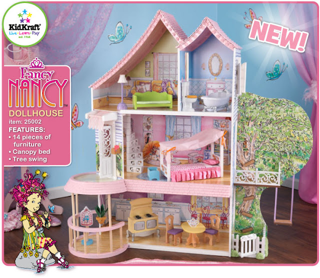 Kitchen Stores Denver Trailer Cabinets Kidkraft Toys & Furniture: Now In Stores! Fancy Nancy ...