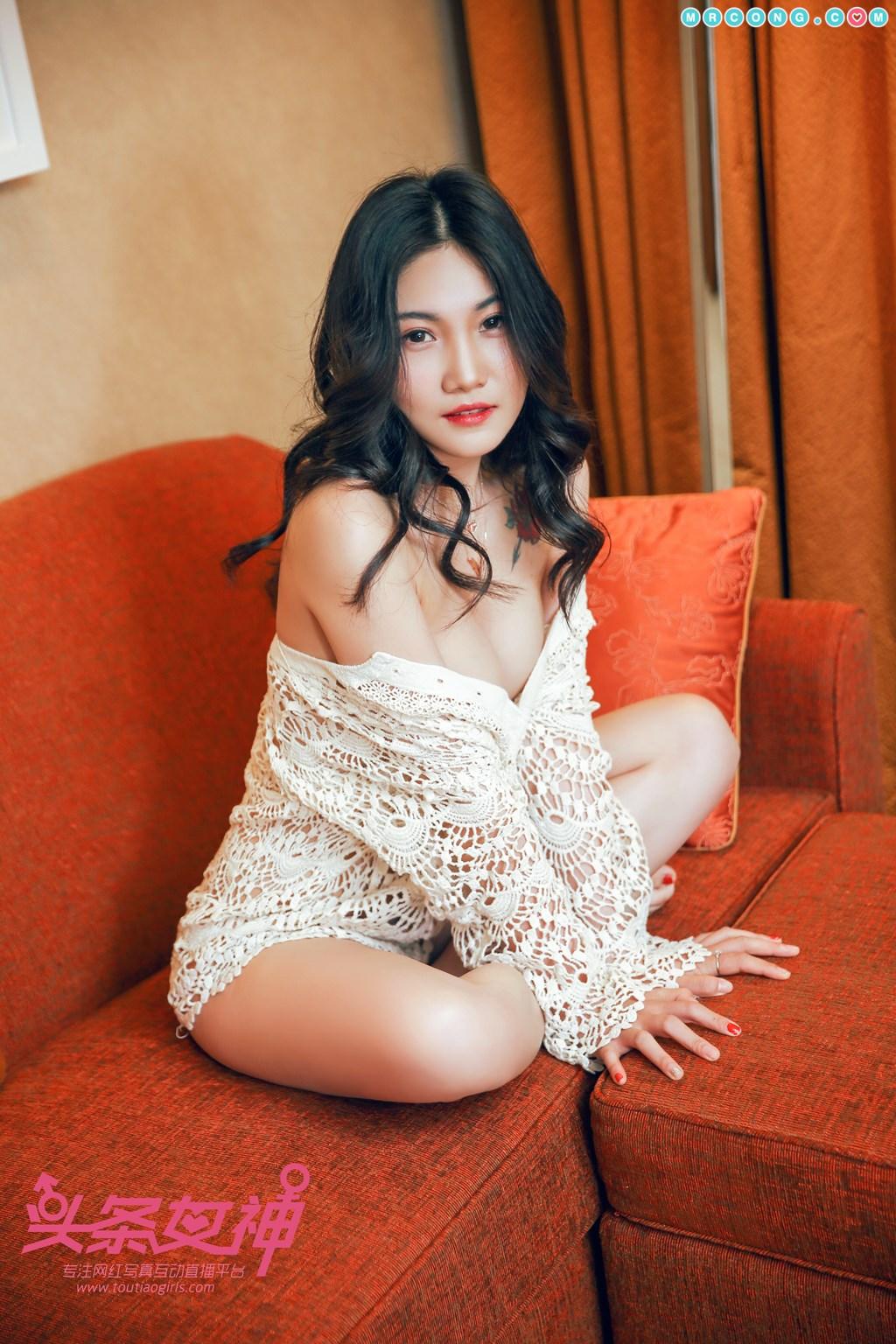 Image TouTiao-2018-04-14-Wan-Jun-MrCong.com-001 in post TouTiao 2018-04-14: Người mẫu Wan Jun (婉君) (26 ảnh)