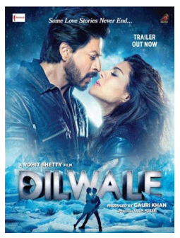 Download Film Dilwale (2015) BluRay 720p 1.3GB x264 Ganool Movie