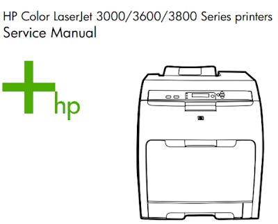 HP Color LaserJet 3000/3600/3800 Service Manual
