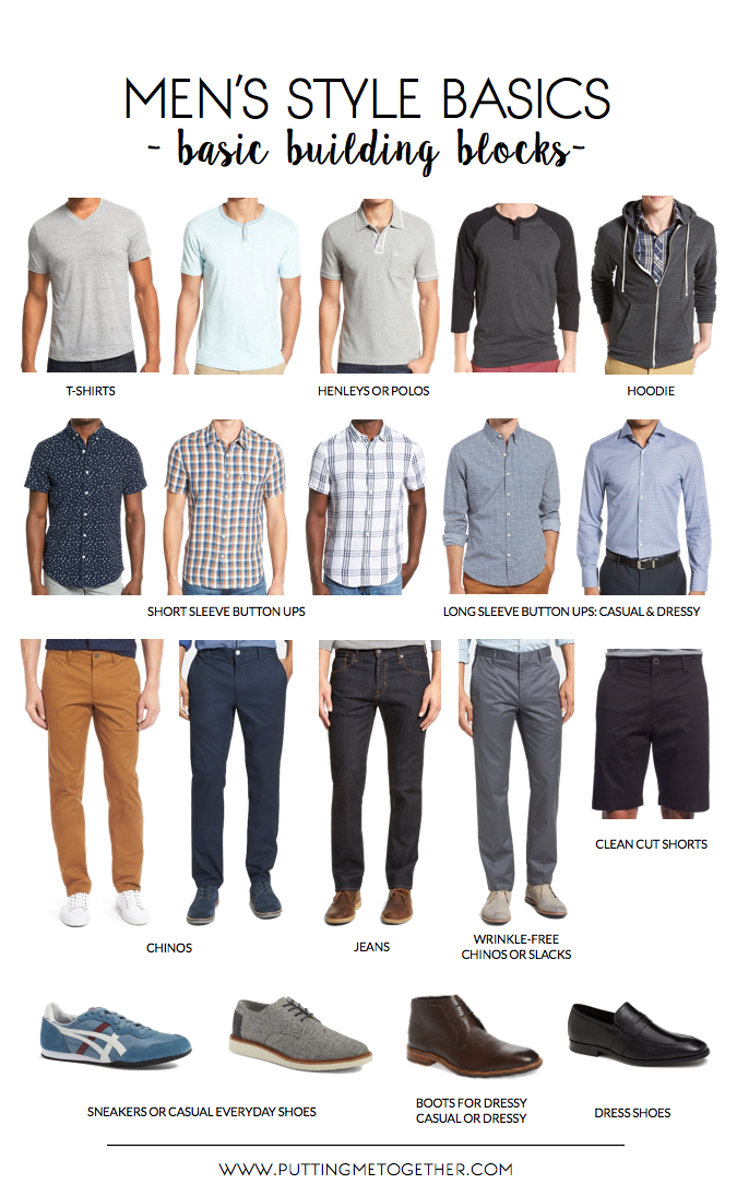 men's style basics