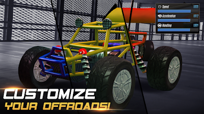 Xtreme Racing 2 Off Road 4 x 4 Apk v1.0.6 Mod Money Coins Gems Android Terbaru Gratis