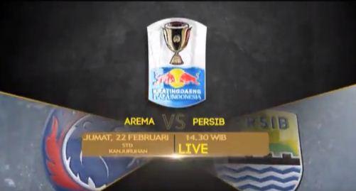 Jadwal Siaran Langsung  Arema FC vs Persib Bandung Jumat 22 Februari 2019