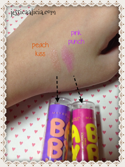 Review & Swatch : Maybelline Baby Lips by Jessica Alicia