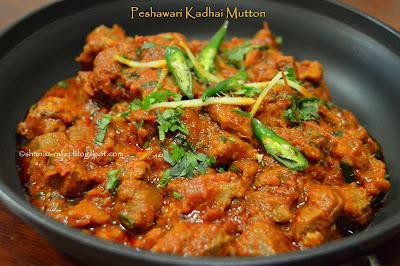 Peshawari Mutton Kadhai
