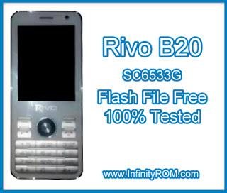 Rivo B20 Flash File SC6533G 100% Tested + Flashing Tutorial - Mobile