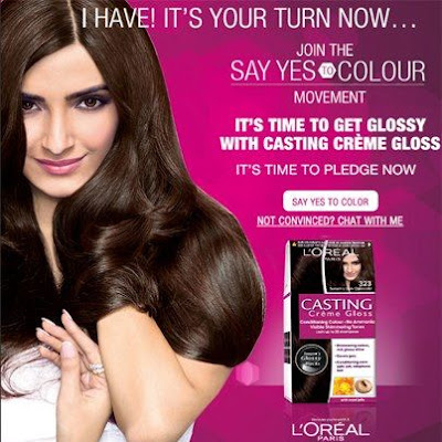 Contest !! 'SAY YES TO COLOUR' L'Oreal India Win To Casting Crème ...