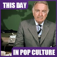 Walter Cronkite retired as a weekly news anchor on March 6, 1981.