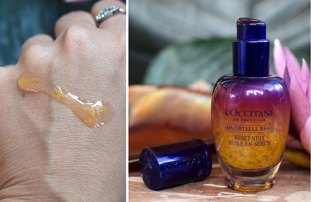 wie wirkt das L'Occitane Immortelle Overnight Reset Öl in Serum