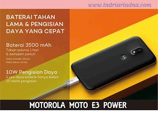baterai tahan lama dan pengisian daya yang cepat