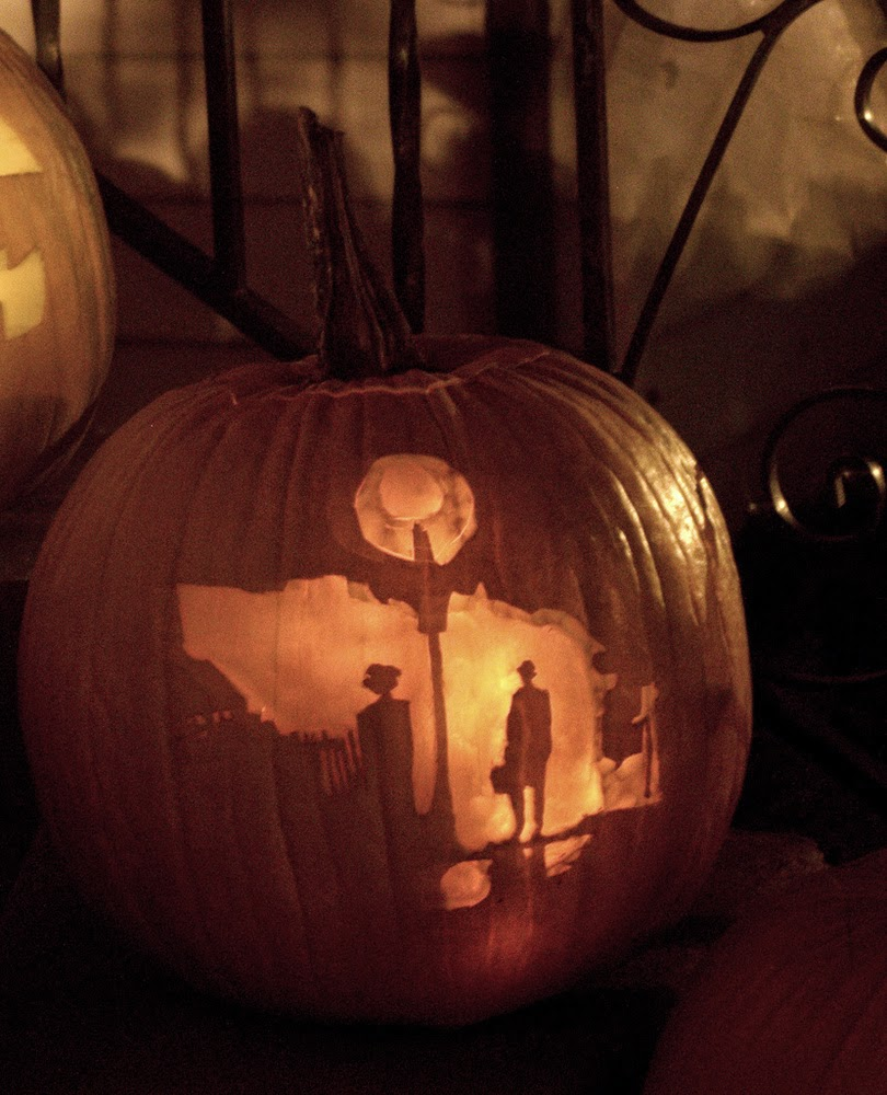 The Exorcist Halloween Pumpkin Carving