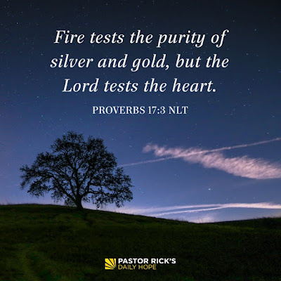God Tests with Stress Before Trusting with Success by Rick Warren