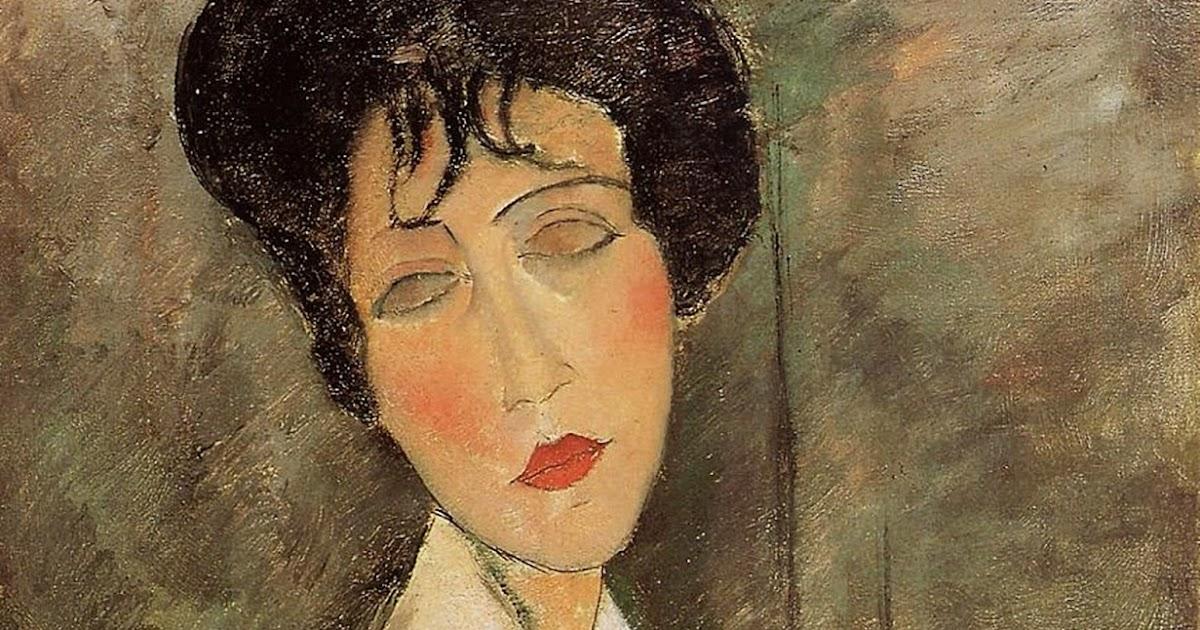 Amedeo Modigliani: Damn Fine Art: Amedeo Modigliani. Portrait Of A Woman In A