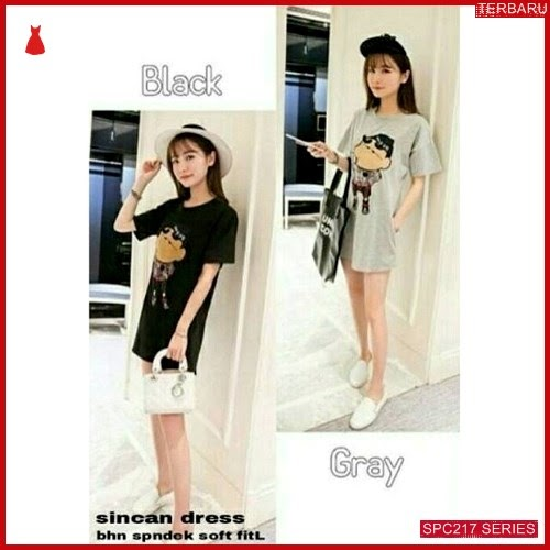 SPC217D34 Dress Sinchan Terbaru Dress Wanita | BMGShop