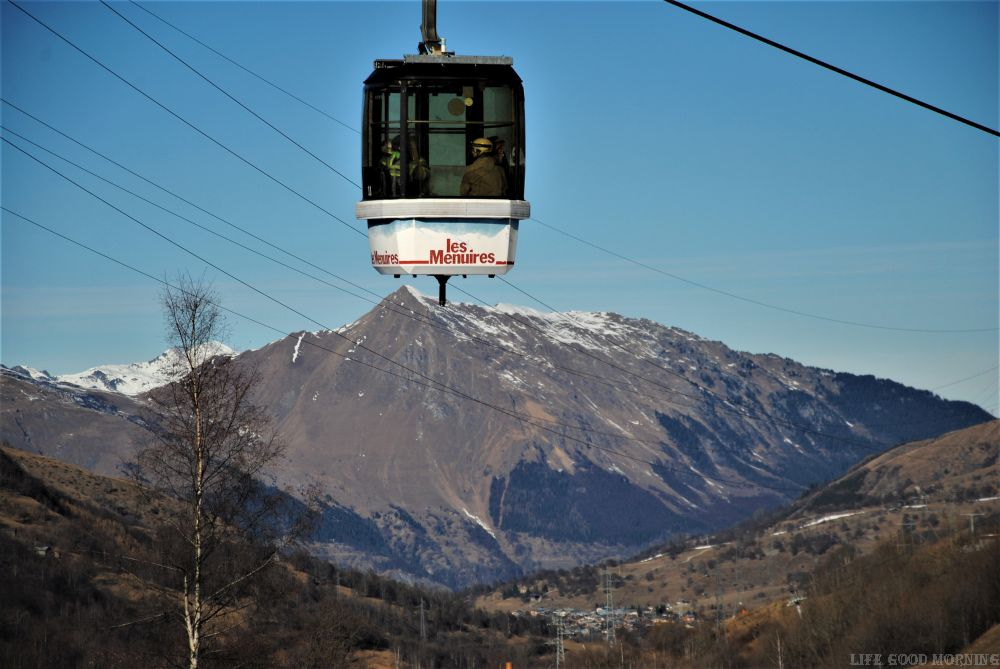 3 Doliny we Francji -  największy ośrodek narciarski świata.