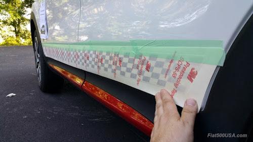 Aligning stripe