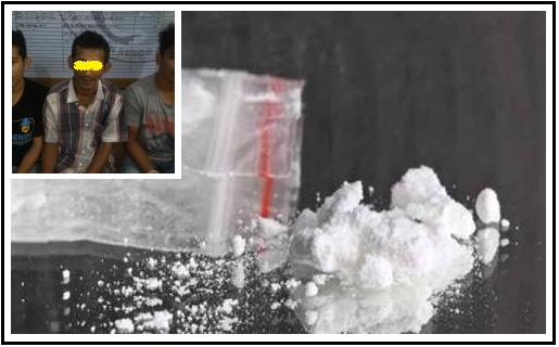5 Warga diamankan Sat Res Narkoba Polres Aceh Besar