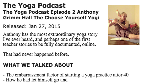 Interviewed by The Yoga Podcast