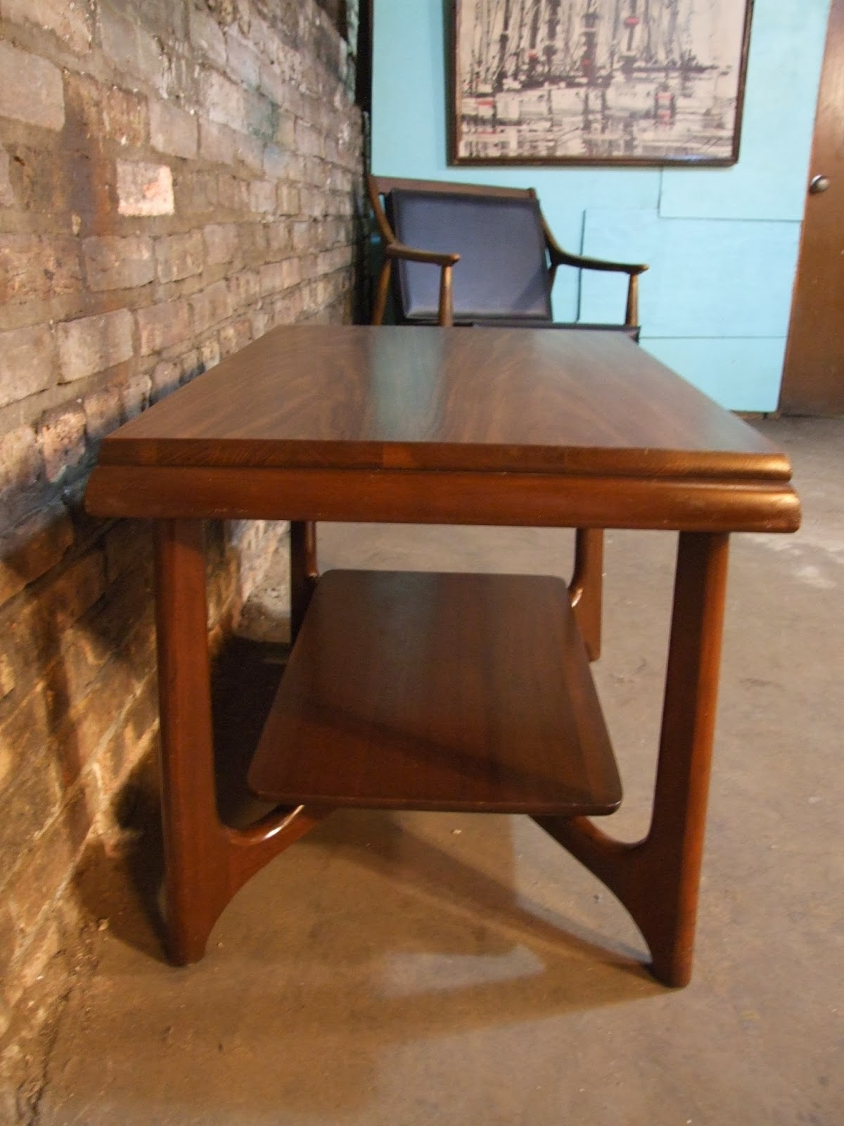 Mid Century Chicago Small Mersman Table