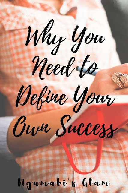 why you need to define your own success