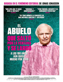 El abuelo que saltó por la ventana y se largó (2013) | 3gp/Mp4/DVDRip Latino HD Mega