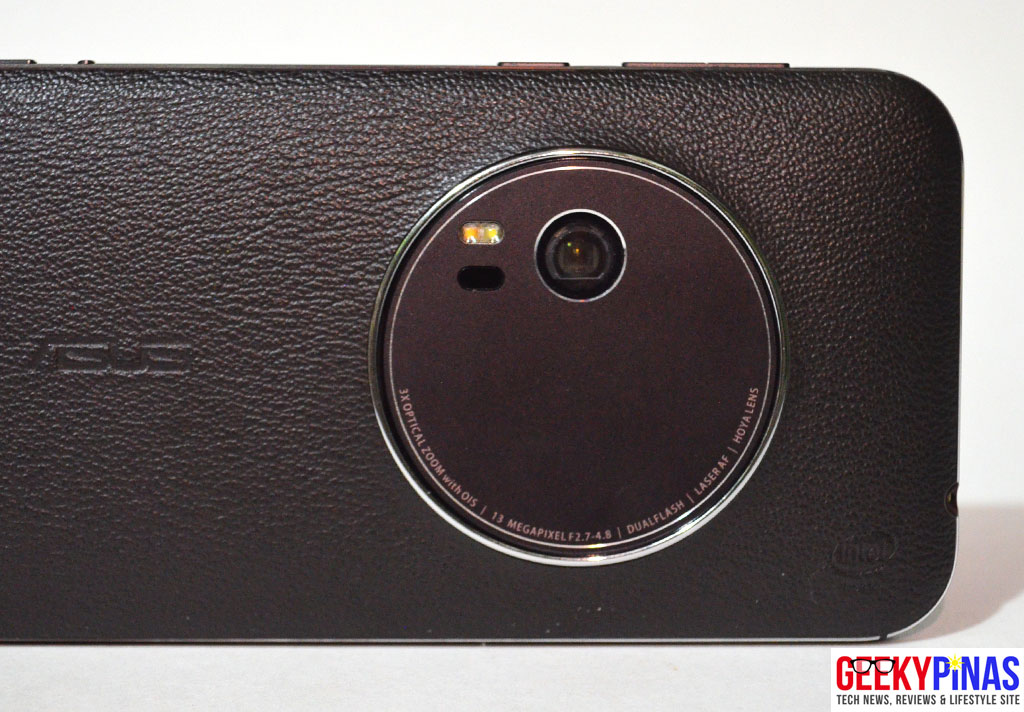 ASUS Zenfone Zoom (ZX551ML) optics