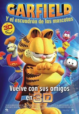 descargar Garfield y el Escuadron de las Mascotas en Español Latino