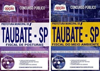 Apostila Prefeitura de Taubaté SP 2019