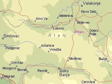 rtanj mapa Per@ Travel: RTANJ rtanj mapa