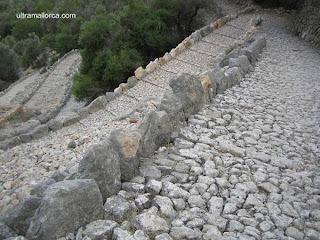 Caminos históricos de piedra seca en Mallorca, España